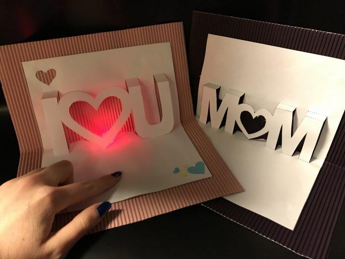 Anneler Günü Kartı Yapımı